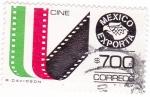 Sellos de America - México -  MEXICO EXPORTA- Cine