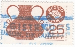 Stamps Mexico -  MEXICO EXPORTA- Cobre martilleado