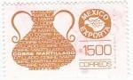 sello : America : México : MEXICO EXPORTA- Martillado