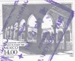 Stamps Mexico -  Convento de Actopán Hgo.