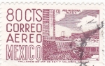 Stamps : America : Mexico :  Arquitectura moderna -México D,F,