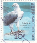 Stamps Hong Kong -  Ave-Aguila de mar vientre blanco