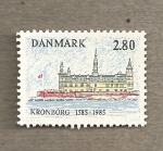 Stamps Europe - Denmark -  Palacio de Kroborg