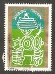 Sellos de Africa - Túnez -  Mercado de sparterie