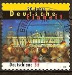 Sellos de Europa - Alemania -  20 años de la Unidad Alemana.
