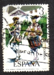 Sellos de Europa - España -  Uniformes