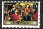 Stamps Spain -  Desposorios Místicos Venerable Agneseo