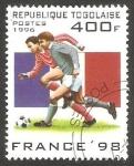 Stamps Togo -  Mundial de fútbol Francia 98