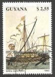 Stamps Guyana -  Nave Brig