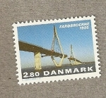 Stamps Europe - Denmark -  Puente