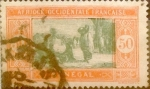 Stamps : Africa : Senegal :  Intercambio 0,20 usd 50 centimos 1926