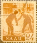 Sellos de Europa - Alemania -  Intercambio 0,40 usd 24 pf 1947