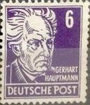 Sellos de Europa - Alemania -  Intercambio 0,80 usd 6 pf. 1948