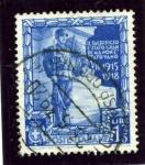 Stamps Italy -  Conmemorativos de la proclamacion del Imperio. Tumba al soldado desconocido