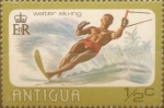 Stamps : America : Antigua_and_Barbuda :  Intercambio 0,20 usd 1/2 centavo 1976