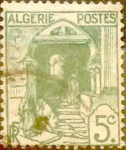 Stamps : Africa : Algeria :  Intercambio 0,20 usd 5 cents. 1926