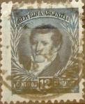 Sellos del Mundo : America : Argentina : Intercambio 0,30 usd 12 cent. 1893