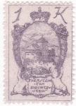 Stamps Liechtenstein -  Castillo de Vaduz