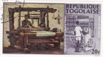 Sellos de Africa - Togo -  Máquita textil