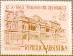 Sellos de America - Argentina -  Intercambio daxc 0,20 usd 5 pesos1963