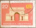 Sellos del Mundo : America : Argentina : Intercambio daxc 0,20 usd 20 pesos1969