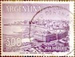 Sellos del Mundo : America : Argentina : Intercambio 0,20 usd 300 pesos1962
