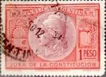 Sellos del Mundo : America : Argentina : Intercambio daxc 0,20 usd 1 peso 1949
