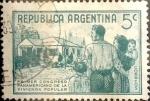 Sellos de America - Argentina -  Intercambio daxc  0,20 usd 5 cents. 1939