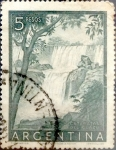 Sellos del Mundo : America : Argentina : Intercambio 0,20 usd 5 pesos 1955