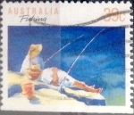 Sellos de Oceania - Australia -  Intercambio 0,30 usd 39 cents.1989