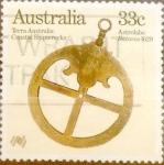 sello : Oceania : Australia : Intercambio 0,20 usd 33 cents.1985