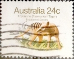 Stamps : Oceania : Australia :  Intercambio 0,35 usd 24 cents. 1981