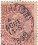 Stamps : Europe : Belgium :  Leopoldo II