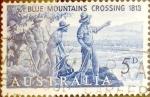 Sellos de Oceania - Australia -  Intercambio 0,20 usd 5 pence 1963