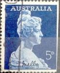 Stamps : Oceania : Australia :  5 pence 1961