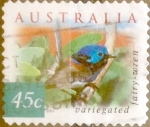 Stamps : Oceania : Australia :  45 cents. 2001