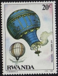"Stamps : Africa : Rwanda :  ""LE MARTIAL"" 19-9-1783"