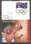 Stamps : Oceania : Australia :  OLIMPÌADAS   DE   BEIJING