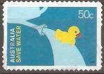 Stamps : Oceania : Australia :  AHORRE  EL  AGUA