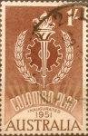 Sellos de Oceania - Australia -  Intercambio 0,25 usd 1 Sh. 1961
