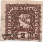 Stamps : Europe : Austria :  Y & T Nº 20 - Timbre