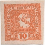 Stamps : Europe : Austria :  Y & T Nº 23 - Timbre