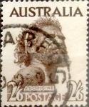 Stamps : Oceania : Australia :  2Sh.6pence 1952