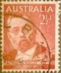 Stamps : Oceania : Australia :  Intercambio 0,20 usd 2,5 pence 1948