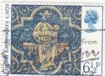 Stamps United Kingdom -  bordado-artesanía