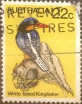 Stamps : Oceania : Australia :  22 cents. 1980
