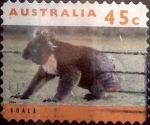 Stamps Australia -  Intercambio 0,70 usd 45 cents. 1994