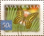 Stamps Australia -  Intercambio aexa 0,80 usd 50 cents. 2003
