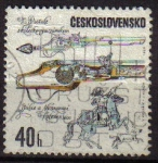Stamps Europe - Czechoslovakia -  CHECOSLOVAQUIA 1969 Scott 1605 Sello Pistolas Antiguas Italianas Michel 1855 Ceskolovensko Ceskolove