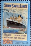 Sellos de Oceania - Australia -  Intercambio aexa 0,70 usd 50 cents.2004
